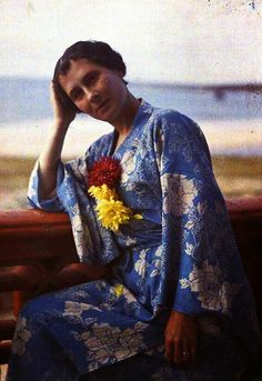 The 1920s Autochrome Photos of Gustave Gain