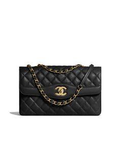ba83f391cae4d Cruise 2017 18 - lambskin   gold-tone metal-black Chanel Handbags