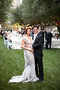 Taylor Tomasi Hill, artistic director of Moda Operandi, reminisces about her Dallas wedding to her high-school sweetheart, Chase.
