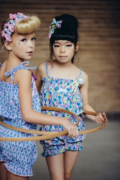 Cute prints and fun accessories are a signature of Japanese kids fashion label Fäfä for spring/summer 2015