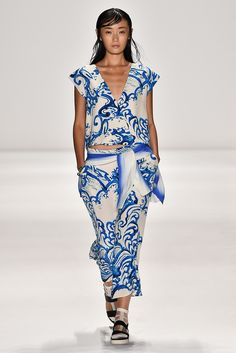 Vivienne Tam Spring 2015 Ready-to-Wear - Collection - Gallery - Style.com