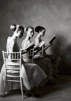 INSPIRED #READING LISTS BY FANTASTIC #NOMADS http://www.nomad-chic.com/search/index.html?term=reading+list #BOOK HERE NOW  Photo: Steven Meisel.