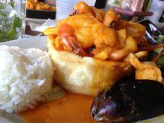 Mofongo at Cafe Puerto Rico, San Juan PR