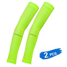 0883fc2cd141c 2 PCS Cooling Arm Sleeves Running Arm Warmers Long Protective Sleeves for  Cycling Driving Basketball Football Outdoor Activity Review