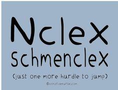 Encouragement for NCLEX prep. Don't stress out #NCLEX http://blog.nclexmastery.com/