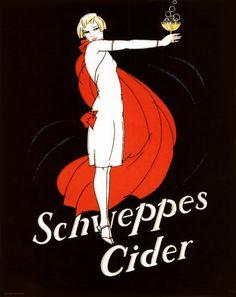 Old Schweppes Cider art.