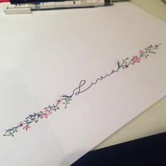 Madalena Letter G Tattoo, Initial Tattoo, Cute Foot Tattoos, Small Flower Tattoos, Unalome Tattoo, Mom Daughter Tattoos, Tattoos For Daughters, Mama Tattoos, New Tattoos