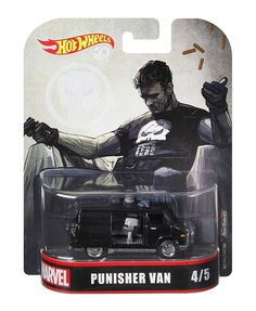 Custom Hot Wheels, Hot Wheels Cars, Hot Cars, Famous Movie Cars, Hot Wheels Display, Hot Wheels Treasure Hunt, Punisher Marvel, Automobile, Custom Trucks