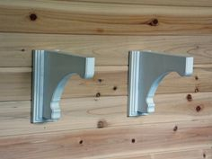 Distressed Shelf Brackets. Wood Corbels. Antique Shelf Brackets. Wood Carving. Woodworking Home Decor. CNC Relief Carving.