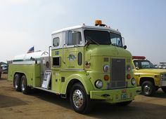 1956 Peterbilt Contract Fire Truck COE....looks new....