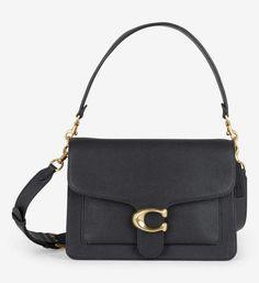 Sac besace Tabby cuir Coach Noir | Galeries Lafayette Lafayette, Fashion Bags, Polished Pebble, Purse, Leather, Fashion Handbags