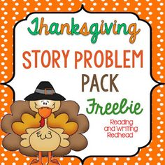 Classroom Freebies: Thanksgiving Story Problems