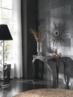 Mesa consola extensible modelo Carlotta de 100 x 40 cm. extensible hasta 240 cm. Para hasta 12 comensales.