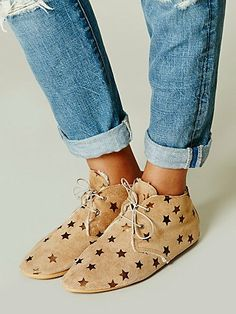starry shoes