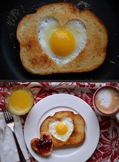 such a cute breakfast!