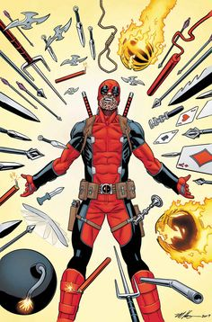 Despicable Deadpool - The Marvel Universe Kills Deadpool Part Three (Issue) Marvel Comic Character, Comic Book Characters, Marvel Characters, Comic Books Art, Comic Art, Dead Pool, Marvel Dc Comics, Marvel Heroes, Marvel Vs
