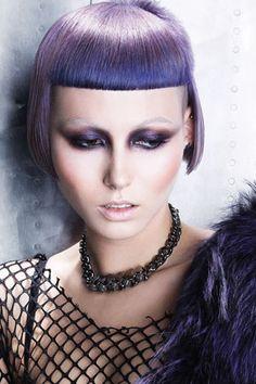 Hair: HOB Creative Team. Make-up: Lan Nguyen-Grealis. Stylist: HOB Creative Team. Photography: John Rawson http://www.goodsalonguide.com/salons/hob-salons12