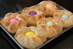There's a lot of Italian recipes for Easter breads, some are savory and some are sweet. Description from pinterest.com. I searched for this on bing.com/images