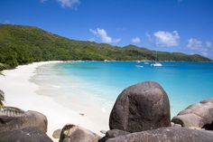 This beach in the Seychelles looks *stunning*