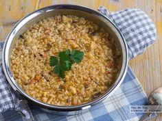Receta de risotto variado con morcilla http://www.directoalpaladar.com/recetas-de-arroces/receta-de-risotto-variado-con-morcilla