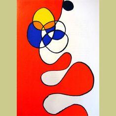 Alexander Calder Derriere le Miroir #173