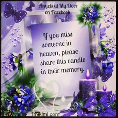 ☆ Missing you Mom and Dad,  xox ☆