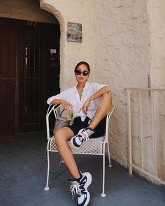 Aimee Song summer 2019 outfit ideas Biker Shorts Outfit Aimee Ideas outfit Song summer The Effective Summer Shorts Outfits, Short Outfits, Casual Outfits, Fashion Outfits, Fashion Shoes, Outfit Summer, Fashion Ideas, Fashion Inspiration, Womens Fashion