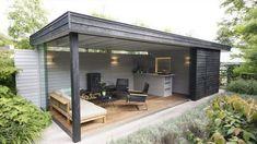 Incredible Backyard design with luxurious backyard pavilion. Backyard Pavilion, Backyard Bar, Backyard Kitchen, Backyard Sheds, Backyard Patio Designs, Outdoor Kitchen Design, Pergola Patio, Backyard Landscaping, Backyard Storage