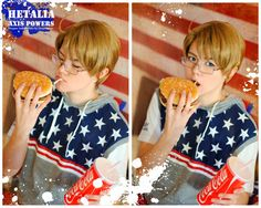 Such a cute America! <3 This really fits his character well! Hetalia Cosplay