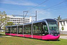 Tram Alstom Citadis in Dijon, France