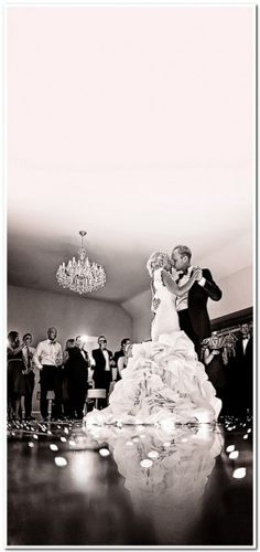 love the idea of a low angle shot of first dance