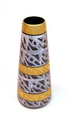 Mid-Century Modern Pottery Vase 1950's