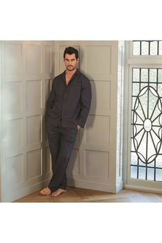 Matching pyjama trouser & shirt for David Gandy for Autograph.