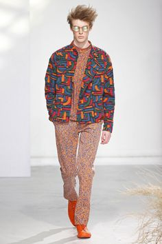 Issey Miyake   Menswear - Autumn 2016   Look 23