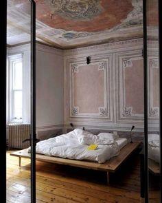 Sweet interpretation of modern with classical, bedroom