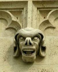 Gargoyles on Zagreb Cathedral, Croatia