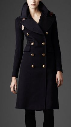 Burberry trench coat.