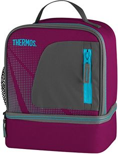 Thermos Radiance Dual Compartment Lunch Kit - Grape Thermos…