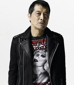 Eikichi Yazawa /矢沢永吉 (Japanese Lock Singer / very Cool) Leather Jacket, Singer, Japanese, Jackets, Photography, Yazawa, Ustream, Musicians, Rock