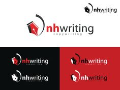 logo for nhwriting by Nowshad Art