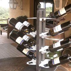 For winery? Zia Gaia free standing small size #arredonegozi #enoteca #bottlerack #bottleholder #wine #winery #redwine #contryside #cantina #forniturewood #espositorevinideluxe #gourmet #interiordesigne #leziedimilano