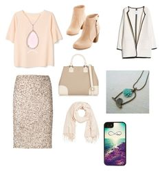 """""""Baby, it's cold outside :p"""" by leila-hussain ❤ liked on Polyvore featuring BEA, Alice + Olivia, MANGO, Tory Burch, My Little Thing, CZ by Kenneth Jay Lane and CellPowerCases"""