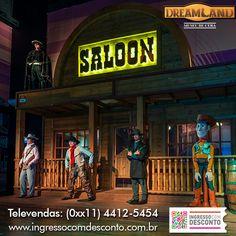 No Dreamland Museu de Cera em Foz do Iguaçu, os bonecos de grandes personalidades mundiais são destaques em cenários diferentes, visando reconstruir ambientes completos de grandes sucessos do cinema e lugares apaixonantes, com muito mistério, paixão e humor.  Gostou? Então vem curtir!  Compre agora: www.ingressocomdesconto.com.br  Televendas: (0xx11) 4412-5454