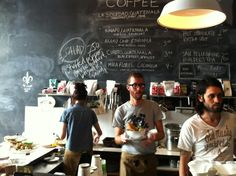 One of the best places to get caffeinated in Detroit.