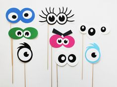 Monster Photo Booth Props. Monster Birthday by LittleRetreats, $34.00