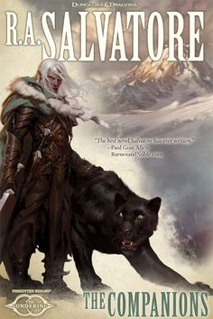 The Companions (Forgotten Realms : The Sundering, book by R A Salvatore - book cover, description, publication history.