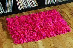 T-shirt rugs - Fun T-shirt crafts