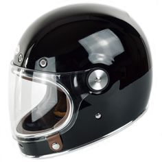 Stunning vintage-look helmet made with modern manufacturing techniques to modern safety standards