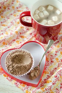 DIY Homemade Hot Cocoa Mix~3 cups nonfat instant dry milk powder, 2 cups powdered sugar, 1 1/2 cups unsweetened cocoa powder, 1 1/2 cups white chocolate chips, 1/4 teaspoon salt