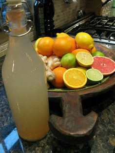 Detox Water Recipe - Start your day with 500ml of this every morning during a cleanse to support the program.